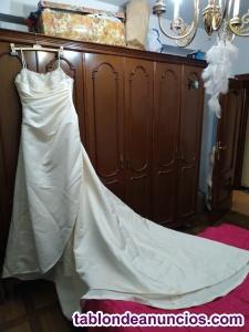 Se vende vestido de novia sin estrenar