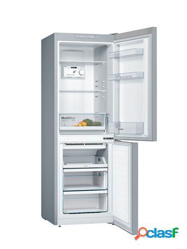 Bosch KGN33NL3A nevera y congelador Independiente Acero