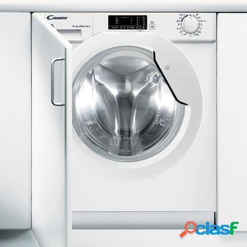 Candy CBWD 8514D-S lavadora Carga frontal Integrado Blanco A