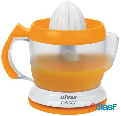 Ufesa EX4939 prensa de cítricos eléctricos Naranja, Blanco