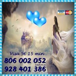 VIDENCIA Y TAROT BARATOS VISA 9€ 30 MIN. NO GABINETE. 806
