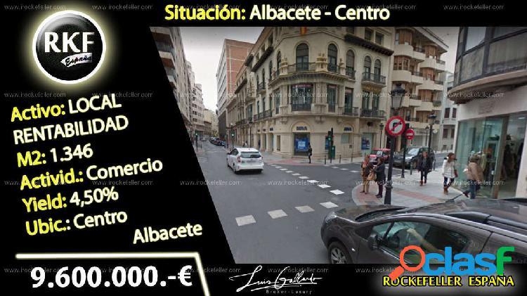 Venta Local comercial - Albacete [226974/Local Rentabilidad]