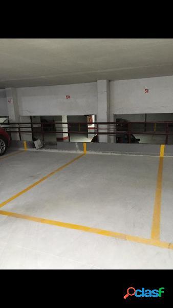 se vende plaza de garaje en Tirso de Molina de Cartagena