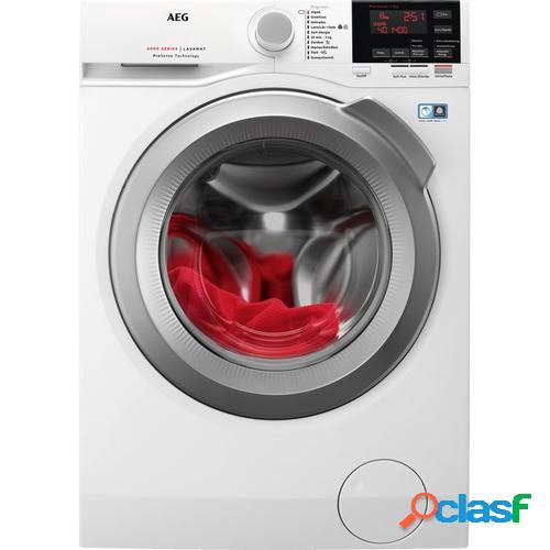 AEG L6FBG844 lavadora Independiente Carga frontal Blanco 8