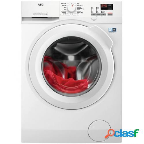 AEG L6FBK821U lavadora Independiente Carga frontal Blanco 8