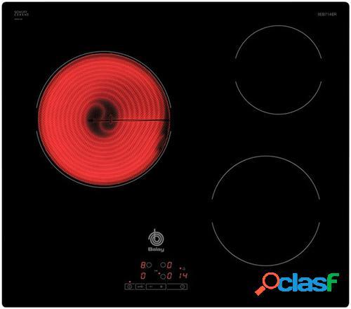Balay 3EB714ER hobs Negro Integrado 3 zona(s)