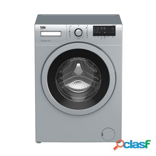 Beko WTV 8632 XCX lavadora Independiente Carga frontal Acero