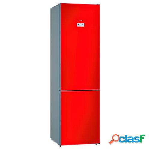 Bosch Combi KGF39SR45 Cristal Rojo