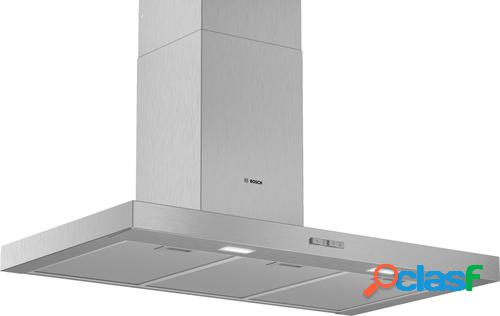Bosch Serie 2 DWB96BC50 campana 590 m³/h De pared Acero