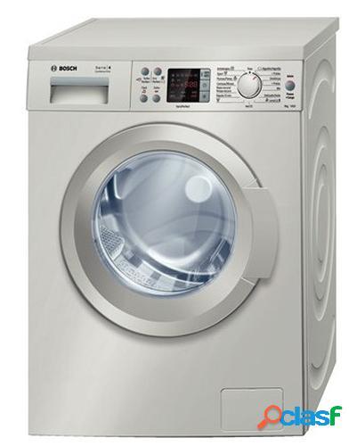 Bosch WAQ2848XES Inox 8Kg lavadora Independiente Carga