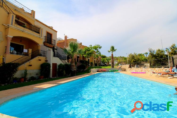 Estupendo Bungalow Planta Baja con piscina comunitaria en