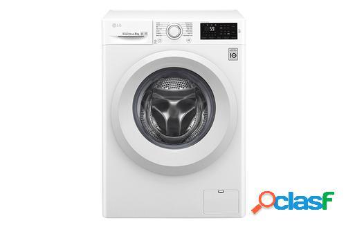 LG F2J5TN3W lavadora Independiente Carga frontal Blanco 8 kg