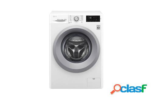LG F4J5TN4W lavadora Independiente Carga frontal Blanco 8 kg