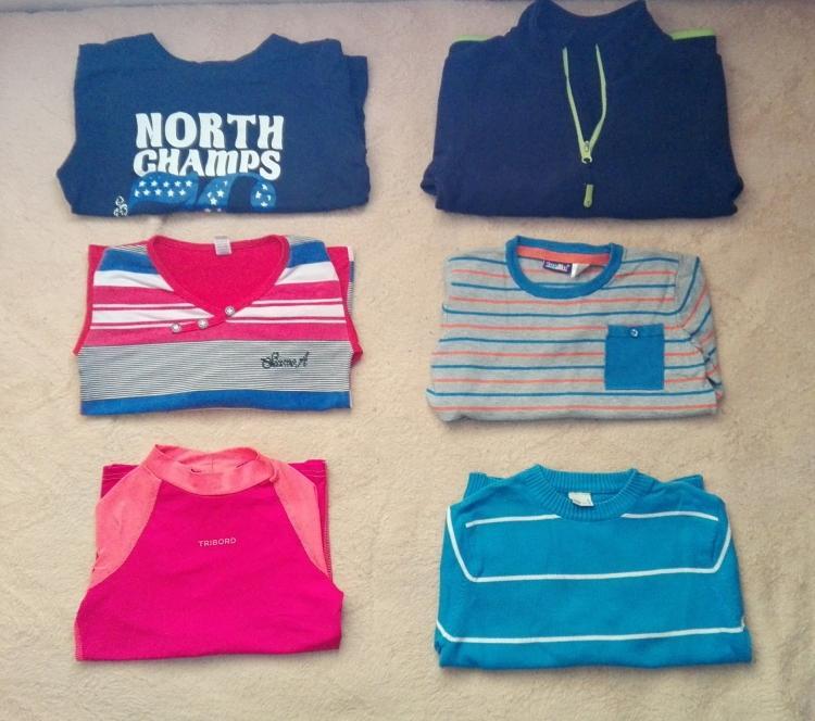 Lote de ropa para niño de 4 a 6 años