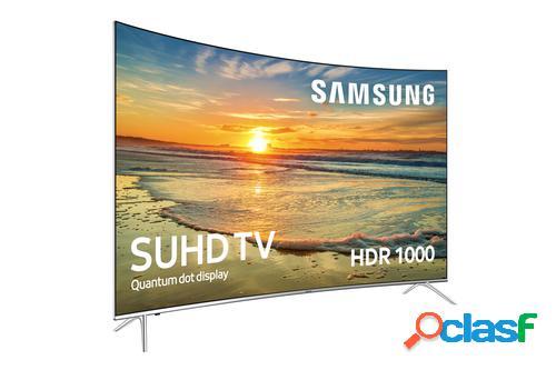 "Samsung TV 55"" SUHD 4K Curvo Smart TV Serie KS7500 con HDR"