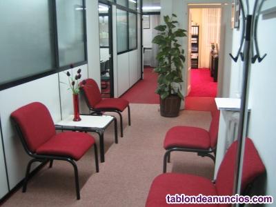 4 sillas y mesa, despacho, oficina, sala de espera