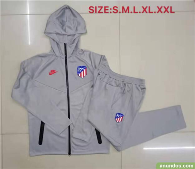 Atletico madrid  chaqueta y pantalone de futbol -