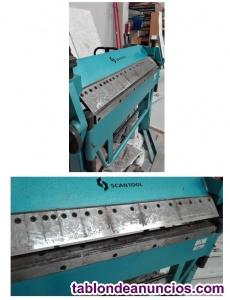 Plegadora manual scantool  x 2