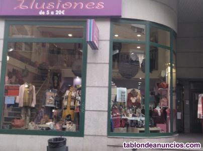 Traspaso tienda de moda y complementos