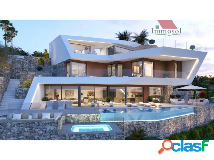Extraordinaria villa de estilo moderno
