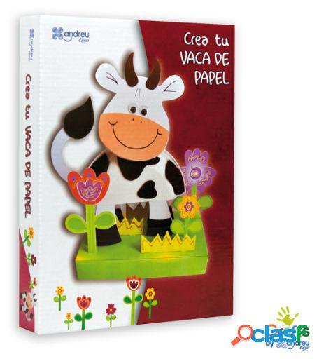 Crafts by Andreu Toys Crea Tu Vaca De Papel