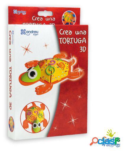 Crafts by Andreu Toys Crea Una Tortuga 3D
