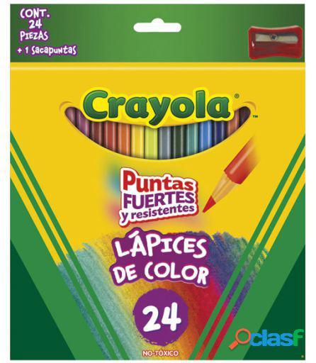 Crayola 24 Lápices De Colores