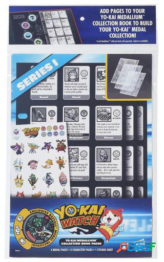 Hasbro Yokai Watch Hojas Extra Para Libro De Medallas Hasbro