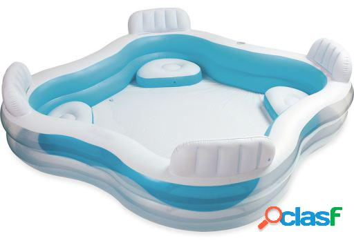 Intex Piscina Hinchable Con Asientos