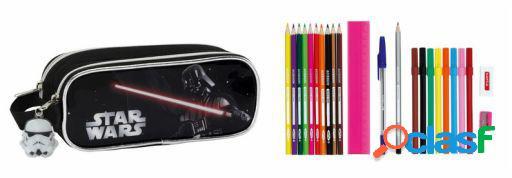 "Safta Portatodo Doble 23 Piezas Star Wars ""Vader"""
