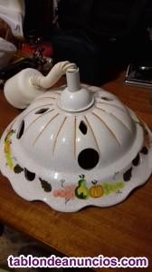 Lámpara sube y baja de cerámica