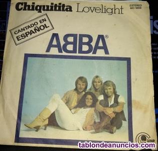 Se vende 2 singles de grupo abba, en los realejos.