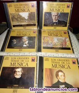 Se vende un lote de 18 cd de una colección de música