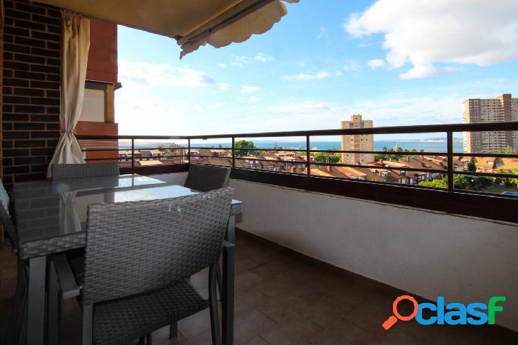 Amplio apartamento con vistas al mar para la TEMPORADA DE
