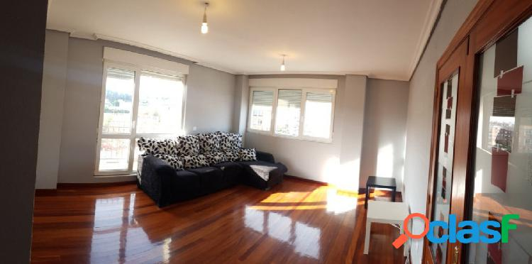 Piso de 3 habitaciones, 2 baños, garaje y trastero