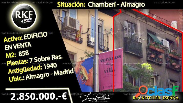 Venta Edificio - Almagro, Chamberí, Madrid [228169/Edificio