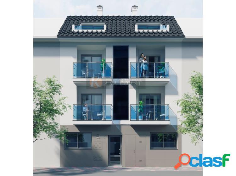 8 viviendas de 2 dormitorios a 200 metros de la playa en