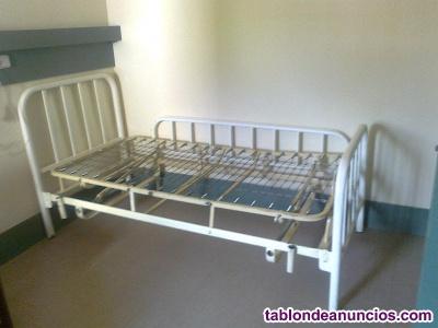 Lote camas hospitalarias