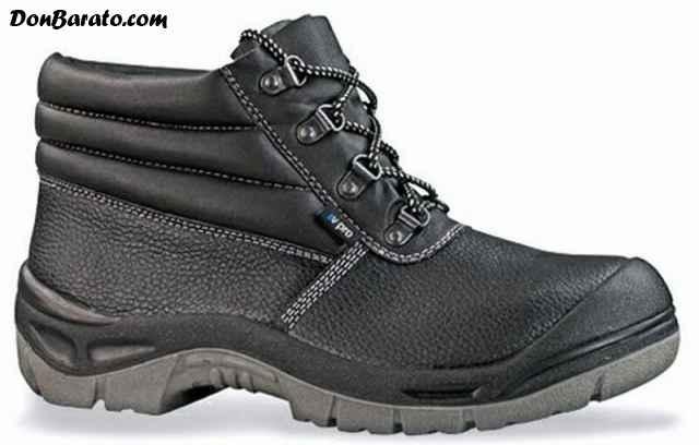 Calzado, botas de seguridad negras num 40