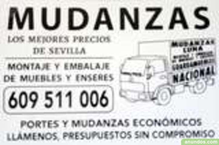 Mudanzas y portes luna - Sevilla Ciudad