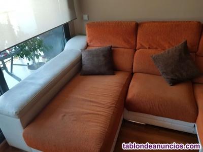 Vendo sofá con chaiselongue de divatto