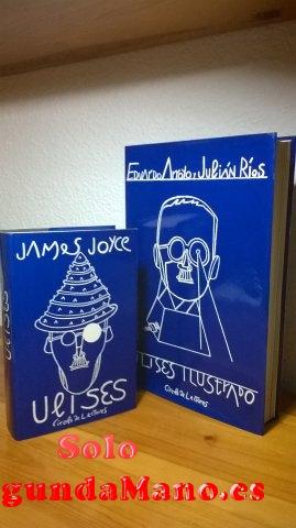 Ulises Ilustrado de James Joyce.