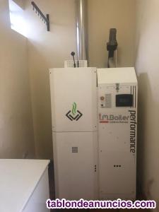 Se vende caldera biomasa policombustible