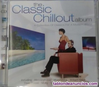2 cd's - lo mejor del chill out!! (morchebaa, hooverphonic,