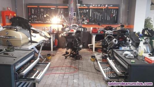 Oportunidad!! traspaso taller motos en c.c. Gran via 2,
