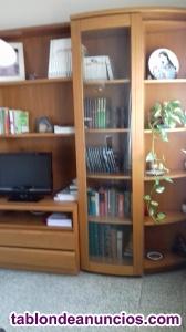 Estantería, librería para comedor, salón, estudio,