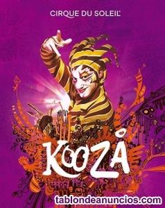 Circo del sol 19 diciembre madrid kooza