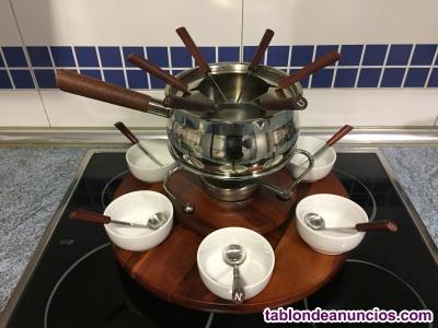 Set de fondue para 6 personas