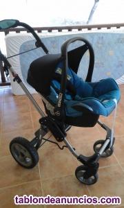 Vendo carrito de bebé de 3 piezas (capazo, maxi-cosi y
