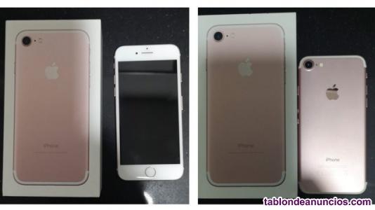 Vendo iphone gb libre, rosa